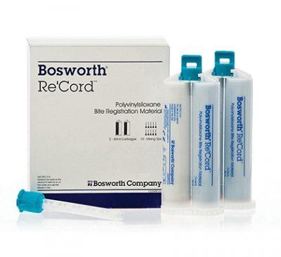 polyvinylsiloxane bite registration