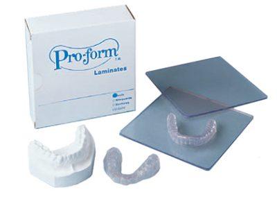 pro-form laminate samples